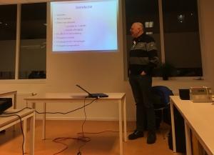 Rudi Engelbertink PH4UNX geeft een lezing over propagatie